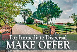 upscale farm in Tryon International Equestrian Center area